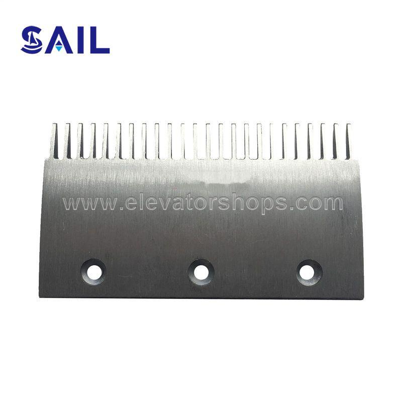 Thyssen Escalator 9011 Aluminum Comb Plate; Old Type
