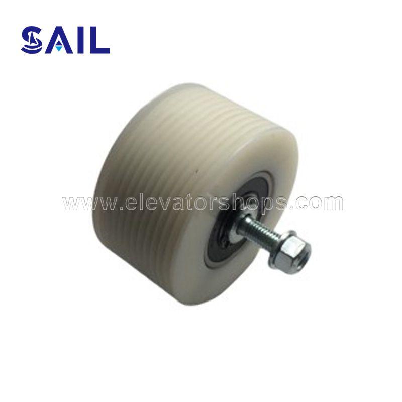 Thyssen Escalator Handrail Poly-V Belt Pulley With Shaft