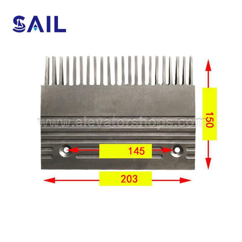 SJEC&Sigma Escalator Travellator Aluminum Comb Plate