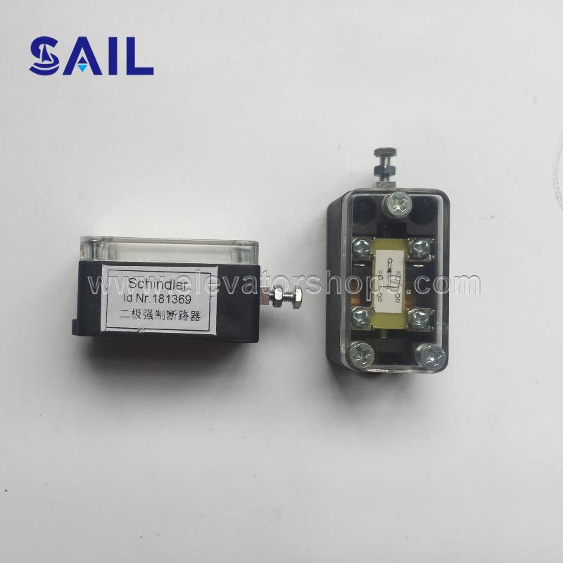 Schindler Cut-Out Switch   Positive 2 Poles For QKS9/10 181369