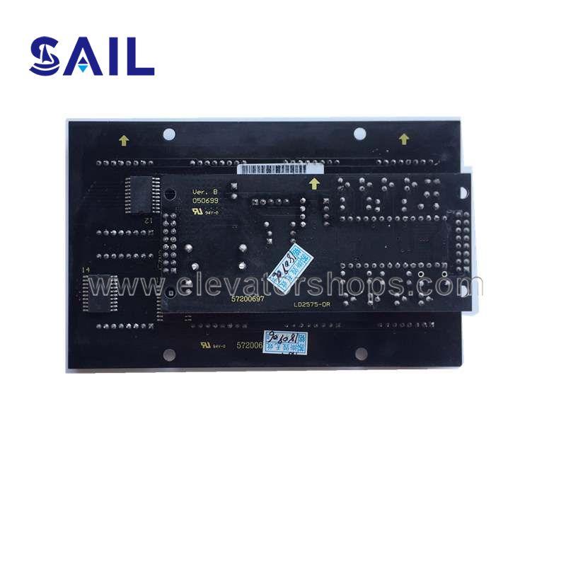 Schindler Elevator Display Board 57200697/57200017