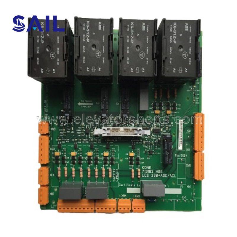 Kone Elevator PCB,LCEADO I/O 230VAC KM713160G02