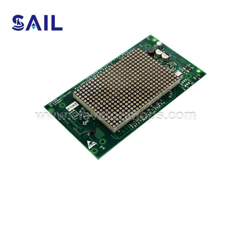 Kone Elevator Avdmat COP Dot Matrix Red Dispaly PCB Board KM853300g01 KM50017283G01