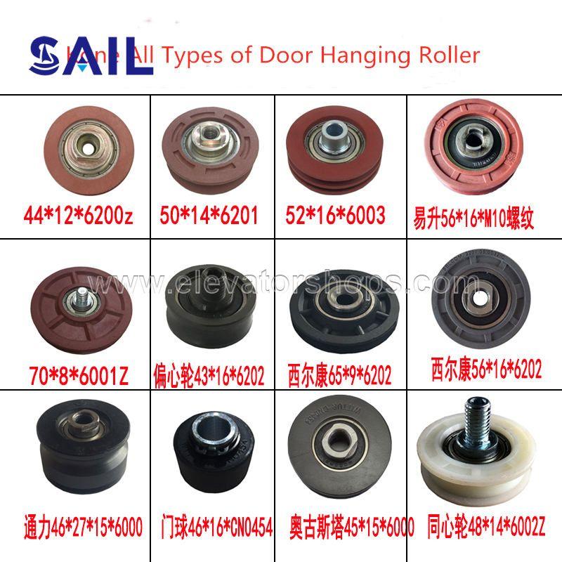 Kone Door parts All types of Hanging Roller Fermator Selcom Eshine Door Roller