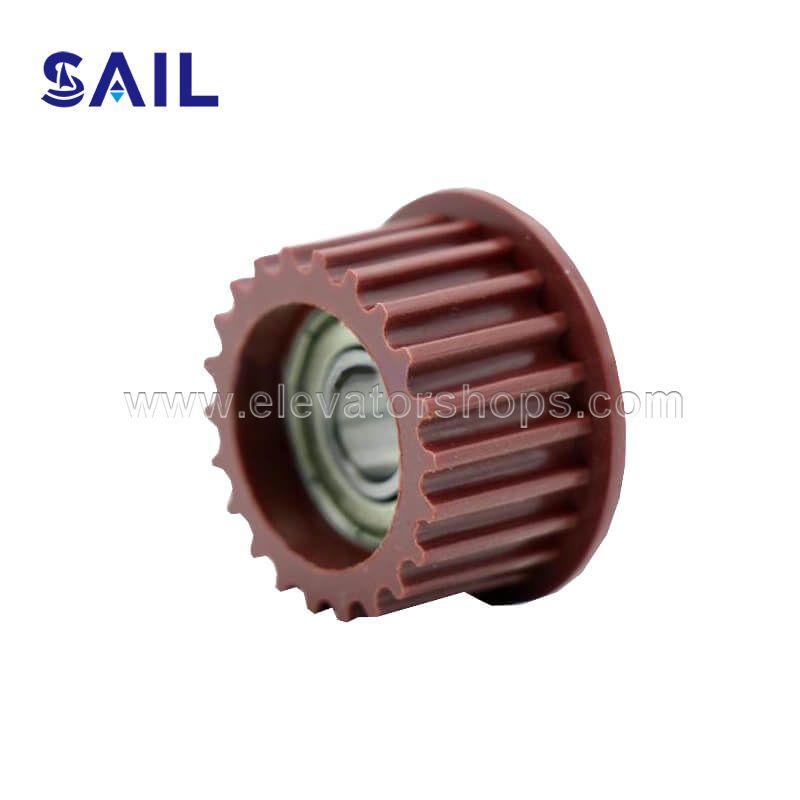 Kone Door Parts Motor Belt Roller Slecom Door Motor Drive Set