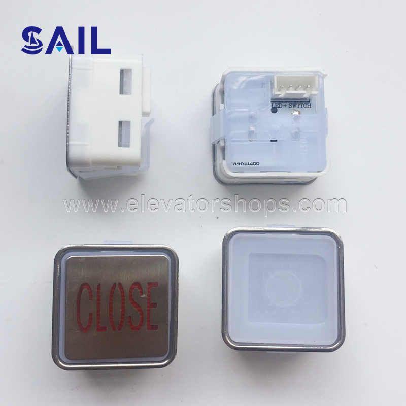 Thyssen Elevator Square Push Button