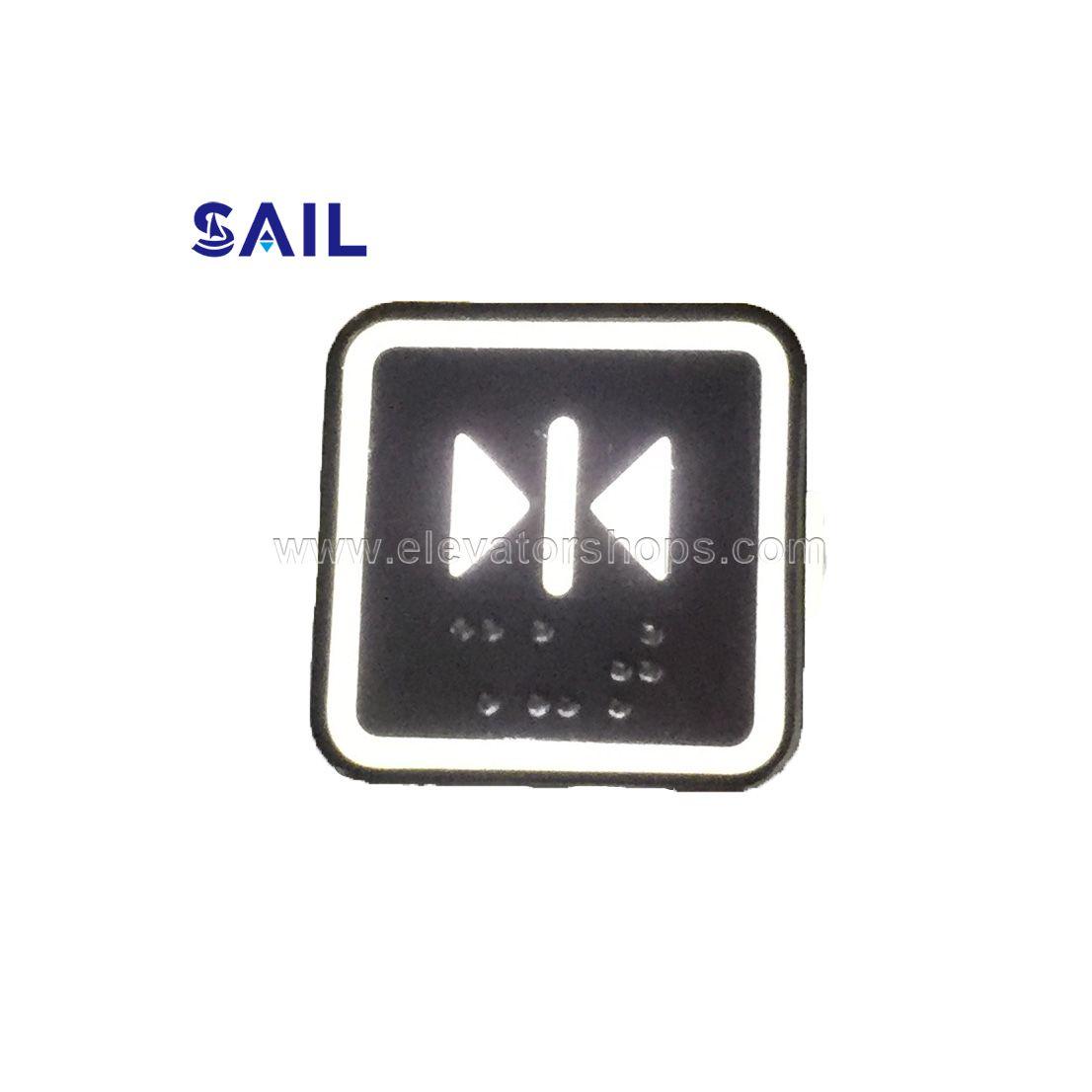 Thyssen Elevator Square Push Button KA302