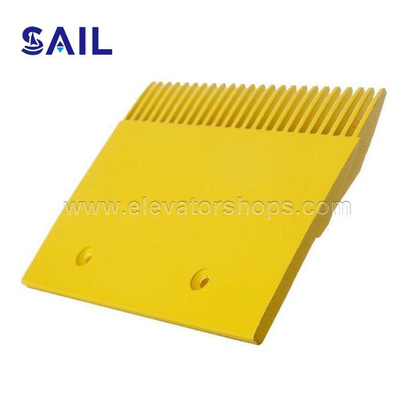 Otis Yellow Painted Complete-Aluminum Comb Plate BV Series GAA453BV51