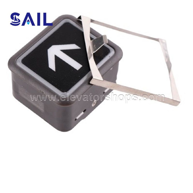 Hitachi Elevator Square Push Button;DL-PO2/AK2026/AR-4