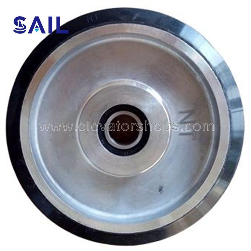 Hitachi Elevator Car Guide Roller 160mm 30mm-6004 Double Bearing
