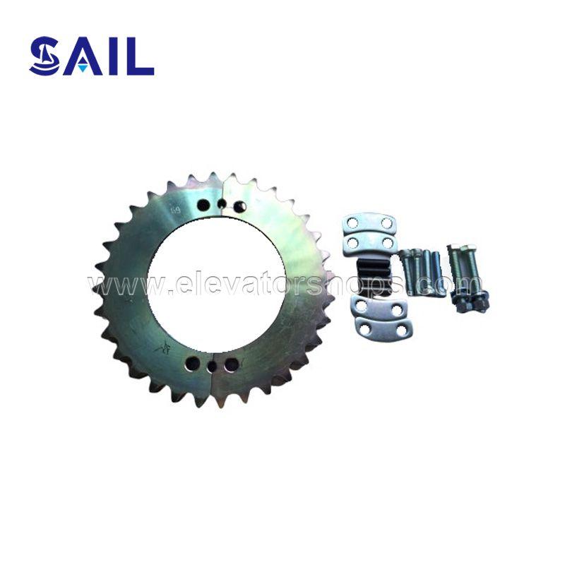 Schindler 9300 Escalator Handrail Drive Chain Sprocket SMK405151