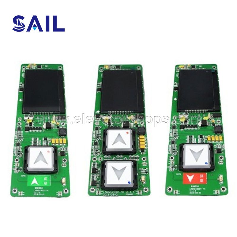 XIZI-Otis Elevator LOP Board,LMBND430DT/HBP12/HPI-B0430VR-1-B