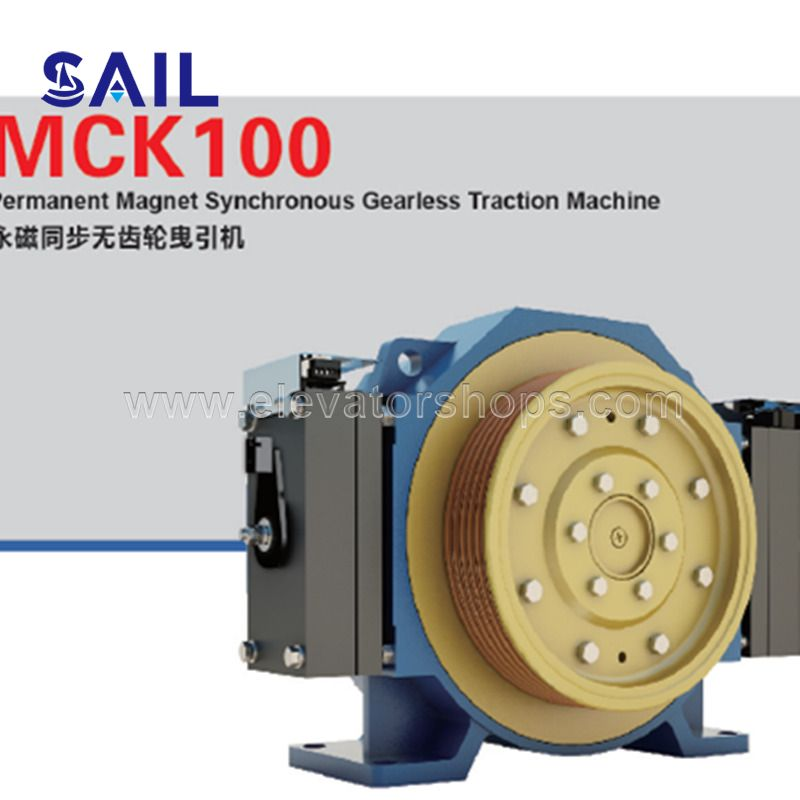 Mona Drive Traction Machine With CE Certificates MCK100
