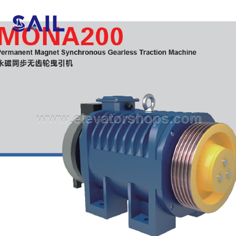Mona Drive Traction Machine With CE Certificates Mona200