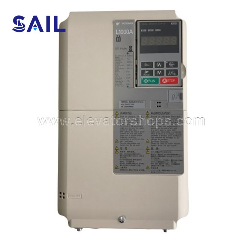 Yaskawa Inverter L1000A  for Elevator Model CIMR LB4A0018FAC 7.5KW