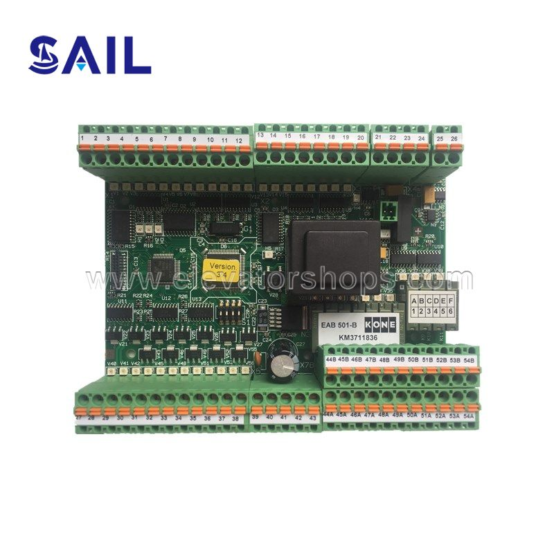 Kone Escalator ECO 501-B Board Version 3.4  KM3711836