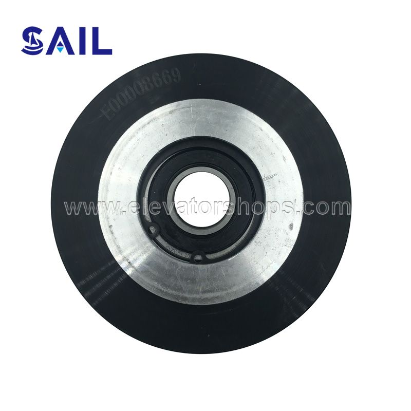 Kone Escalator Aluminum Step Roller 110*25-6204