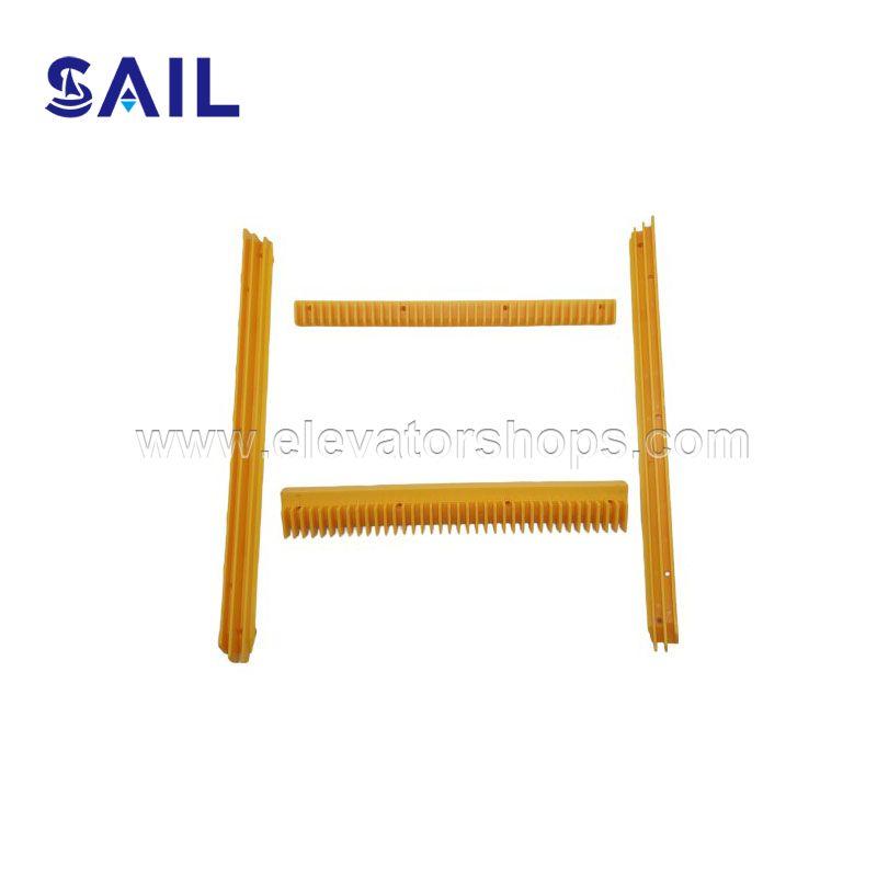 Hitachi Escalator Plastic Yellow Demarction H2106231 H2106230 H2106211 H2106223