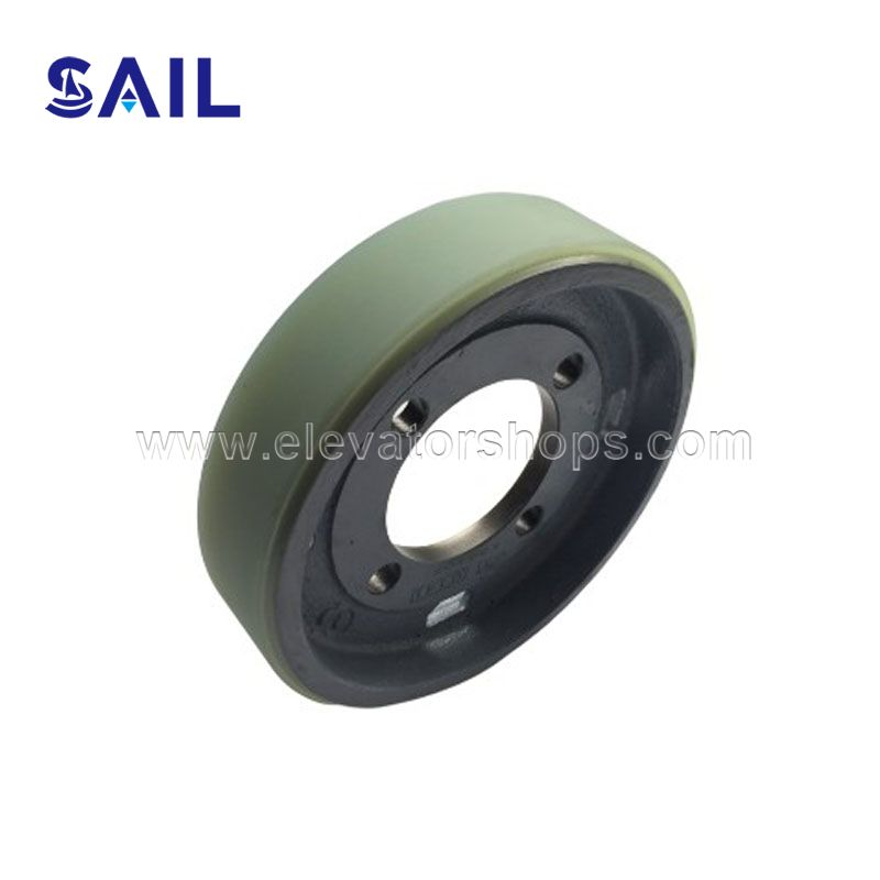 Hitachi Escalator Handrail Driving Wheel 140*36mm