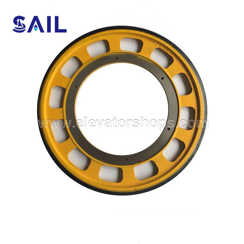 Fujitec Escalator Friction Wheel 587mm*30mm