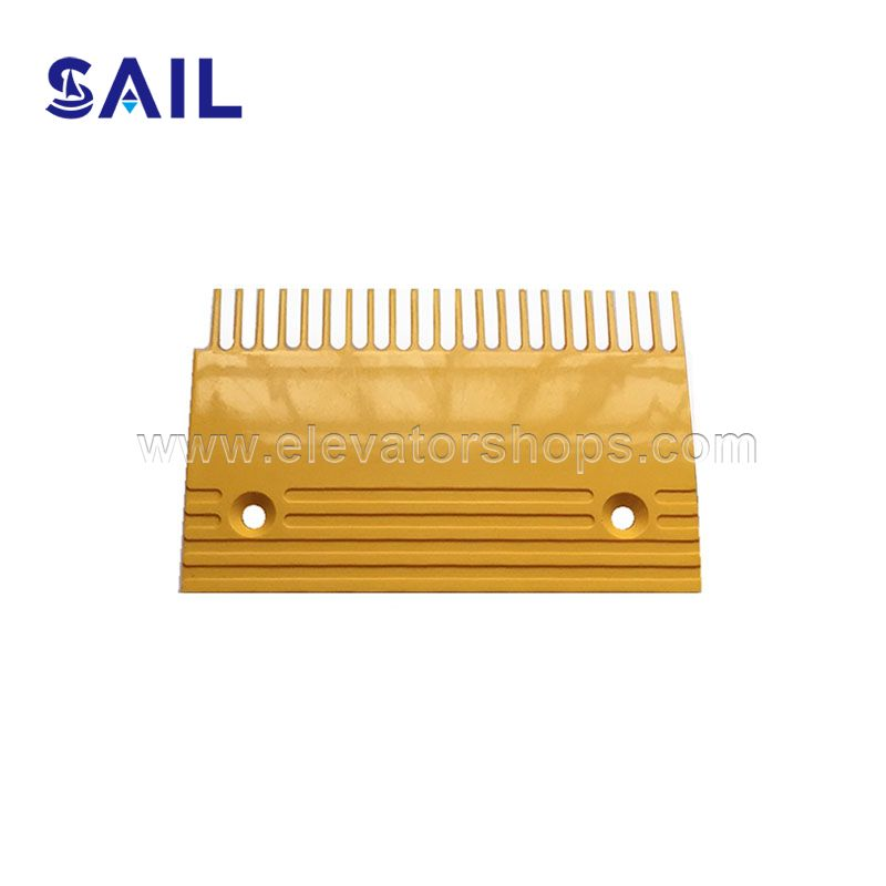Toshiba Escalator Yellow Plastic Comb