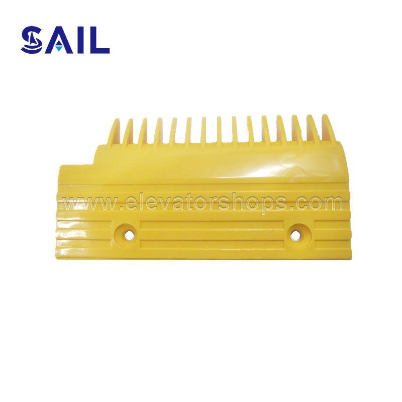 Hyundai Escalator Yellow Plastic Comb Plate 655B013H06