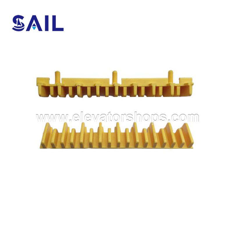 Hyundai Escalator Step Yellow Plastic Demarction 645B023
