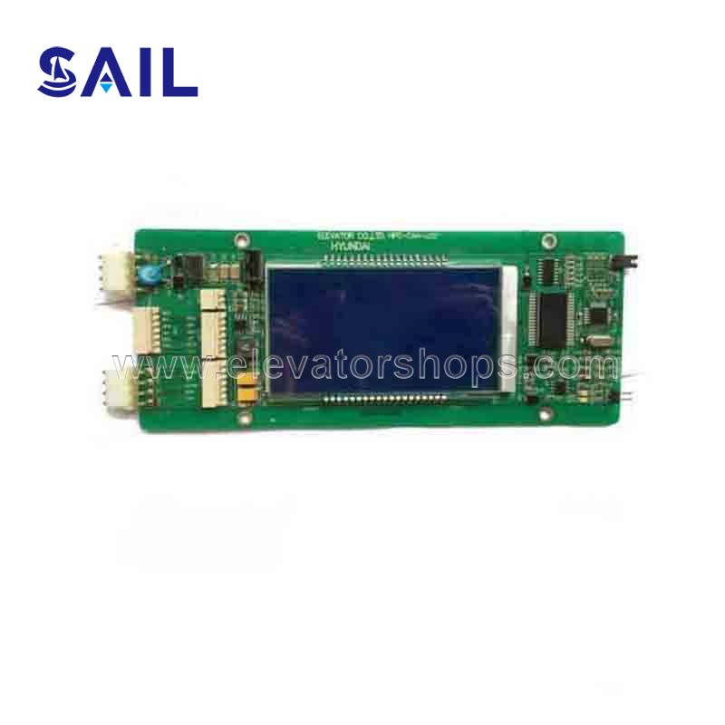 Hyundai Elevator STVF5  STVF7 Dispaly Board HIPD-CAN-LCD HPD-CAN