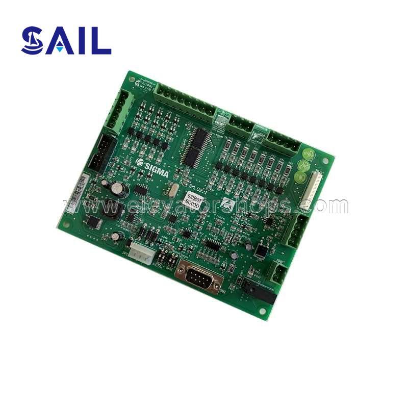 LG-Sigma Elevator PCB Board SM.02/I