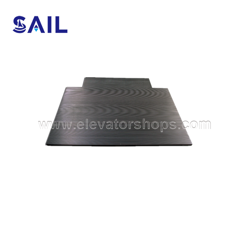 Schindler Escalator Entrance Plate Black