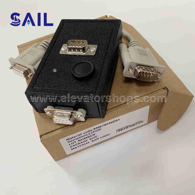 Kone Elevator LCEUIO Black Service Tool Box KM878240G01