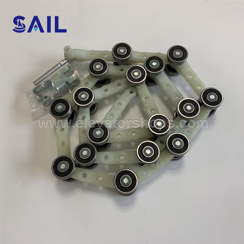 Schindler Escalator 9300 Handrail Chain 50645230 PA6.6-30GF