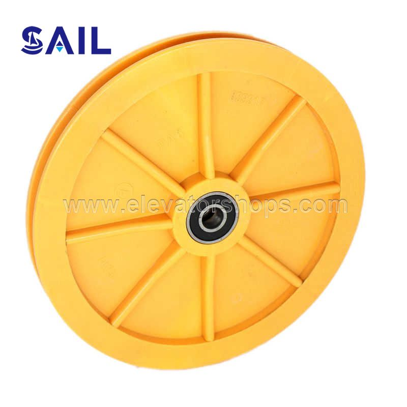 Schindler 3300AP GBP Speed Governor Wheel 600*12mm-6201