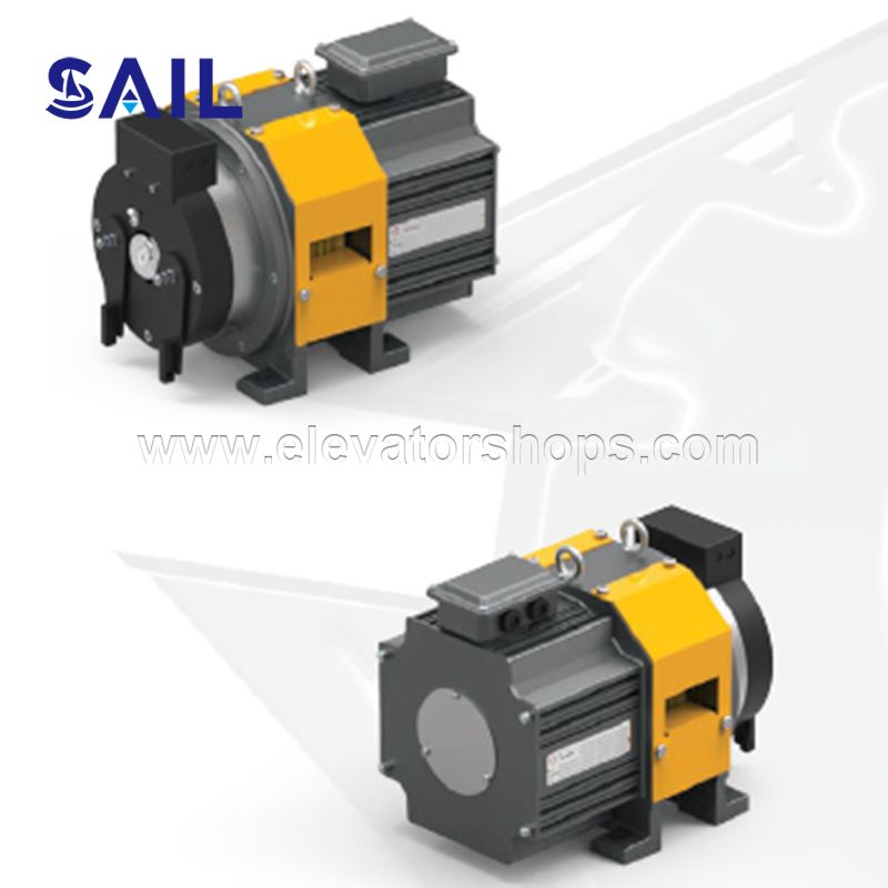 Italy Montanari Manufacture Gearless Traction Machine MDX20HXS-HS