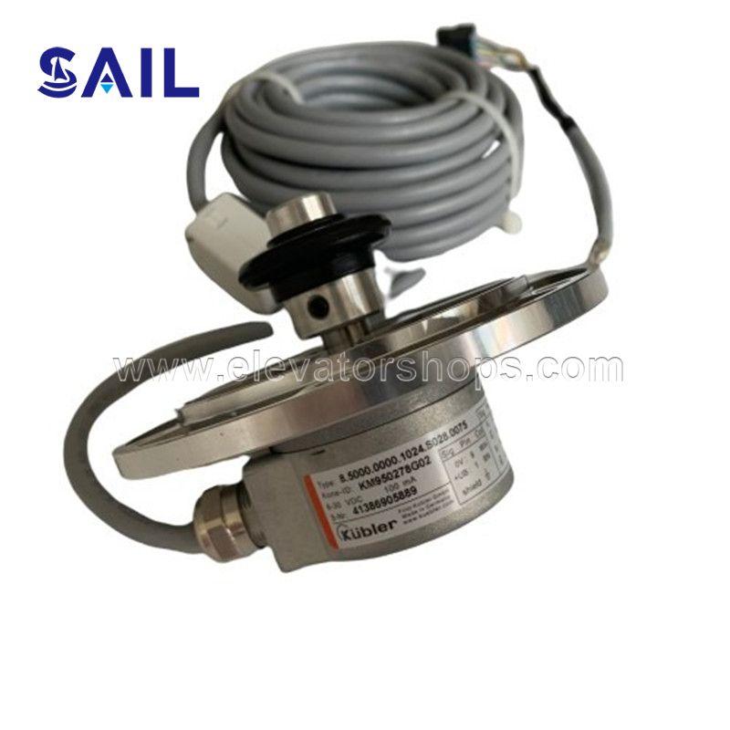 Kone Frequency Converter KDL16L Encoder   KM950278G02