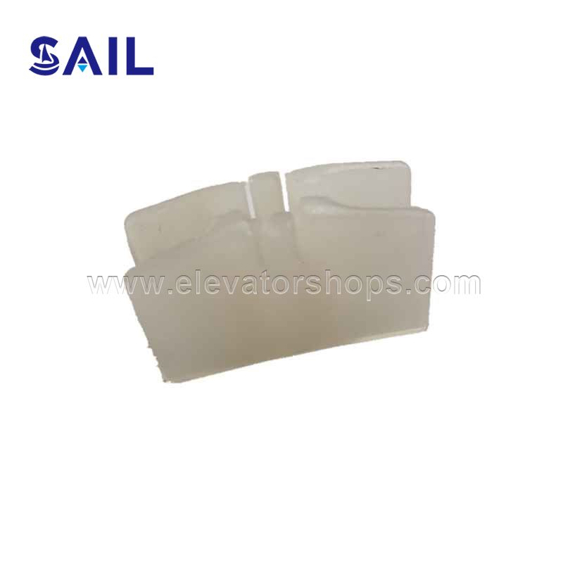 Selcom Door slider White Plastic Clip