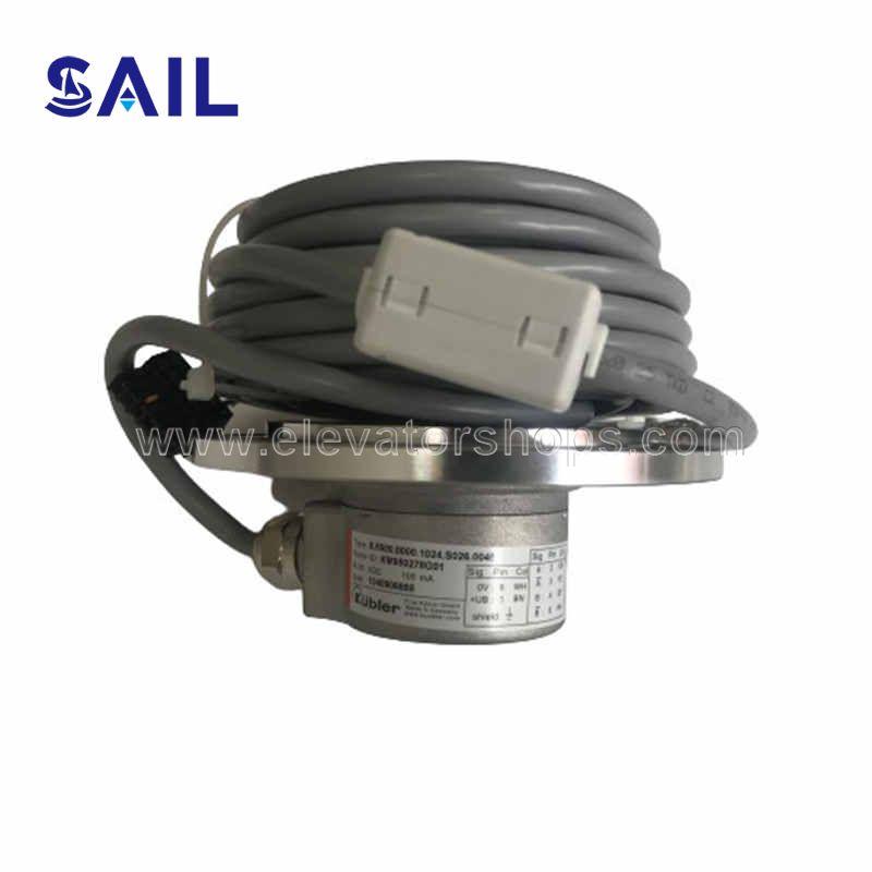 Kone Traction Machine Motor Speedometer Encoder KM950278G01