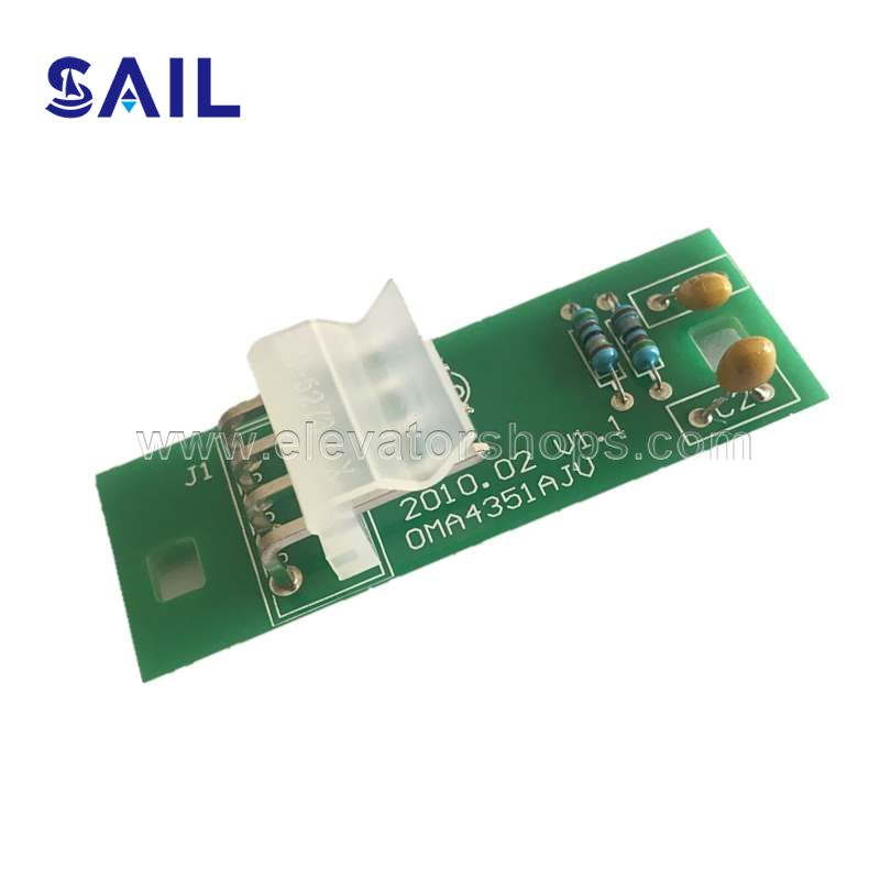Otis Elevator Board OMA4351,Replace XAA610DC1