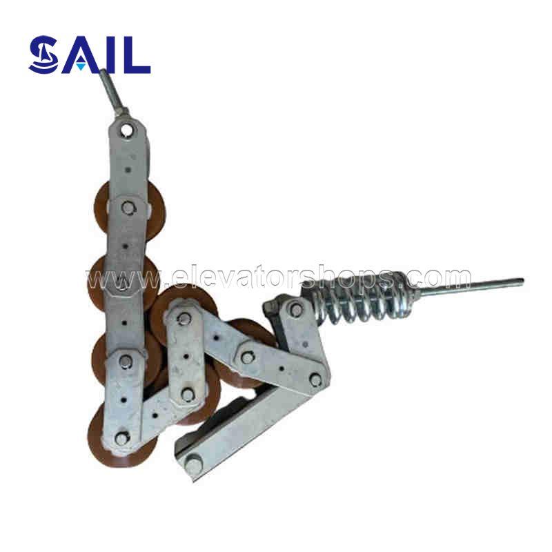 Otis Escalator Tension   Chain 7 rollers 76*55mm GAA332L3