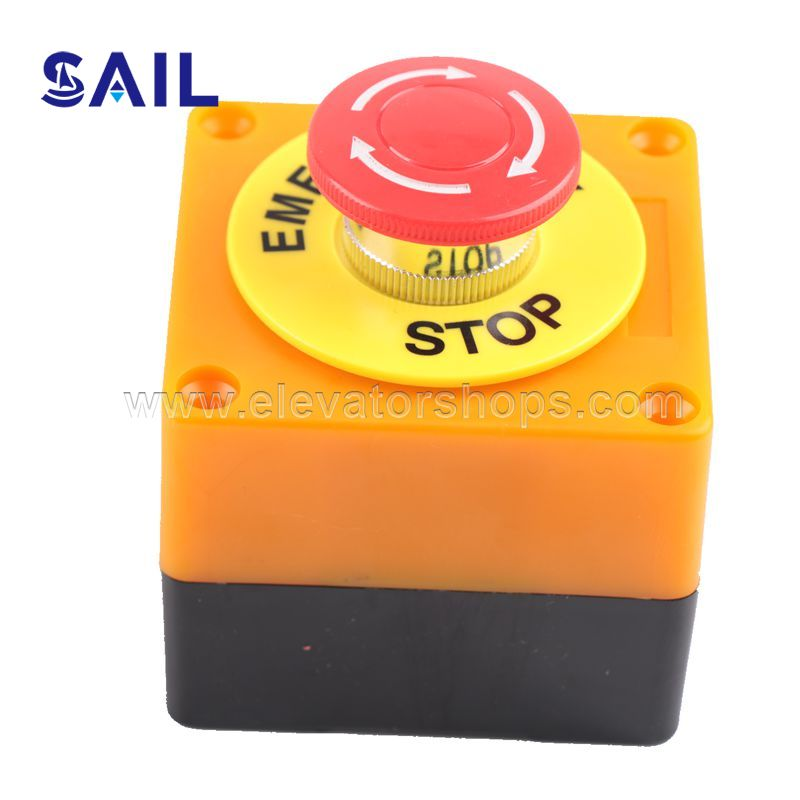 Elevator Pit Emmergency Stop   Button Switch