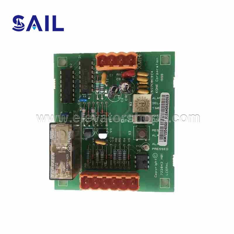 KONE Elevator Circuit Board LCERAL Board Interface Board Remote Alarm Board KM722040G01/722043H01