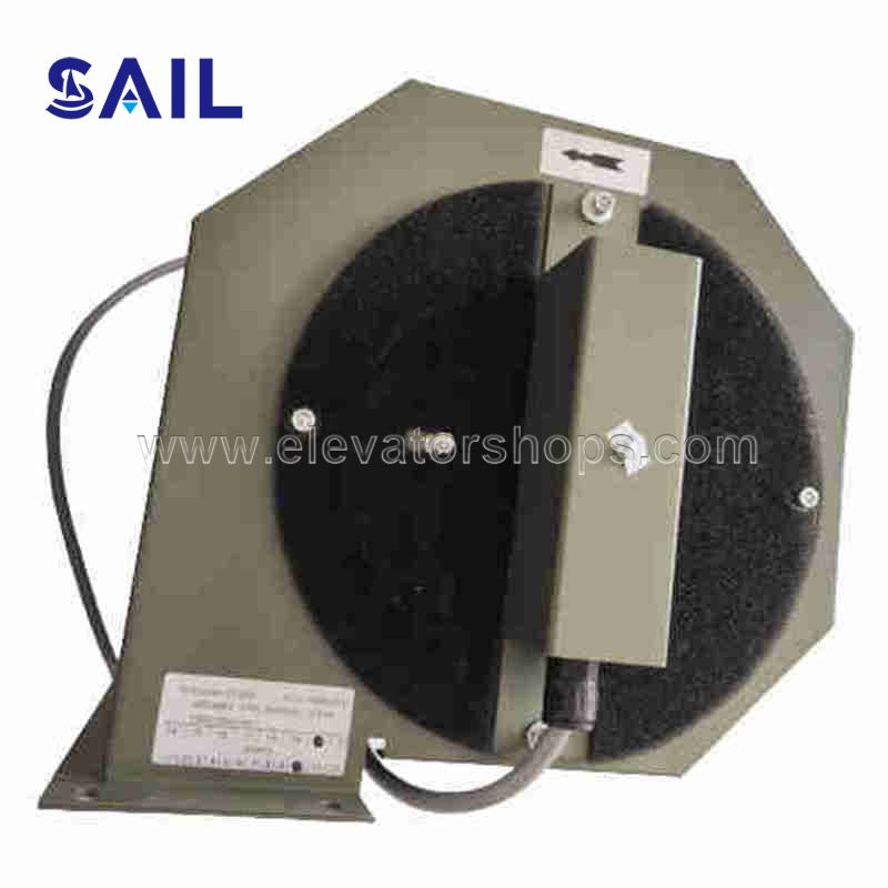 Schindler 7000AP Elevator Traction Machine Fan DV200 ID49980845