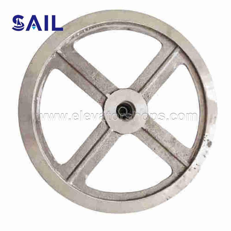 Schindler Elevator QKS9 Door Motor Belt Wheel 505712 320mm