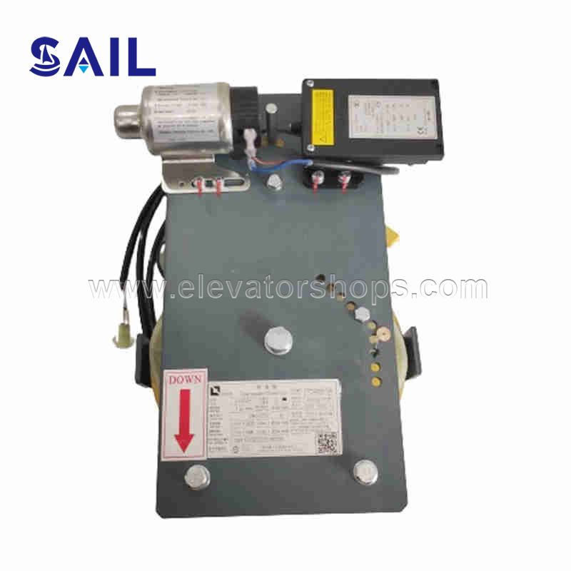 Thyssen Elevator Machine Room-Less Speed Limiter Assembly LOG01 1.0m/s Tensioning Device
