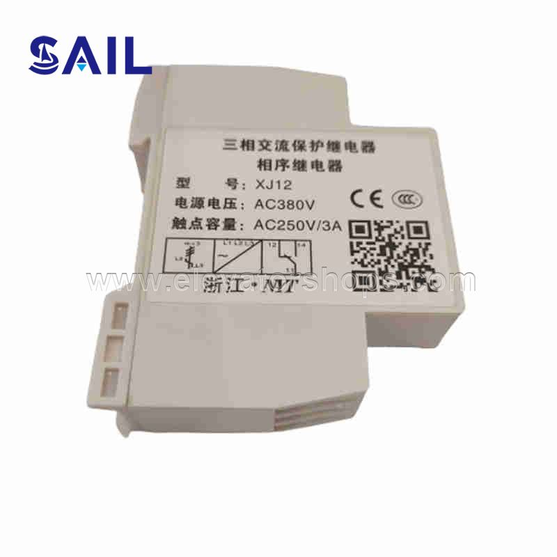 KONE Thyssen Fuji XJ12 Upstream AC Phase Sequence Protection Relay Elevator Accessories