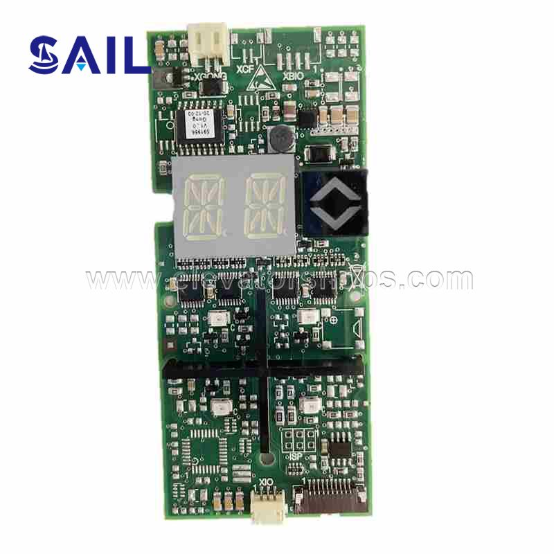Schindler Elevator 300 Touch LOP Display Board ID.NR.591893