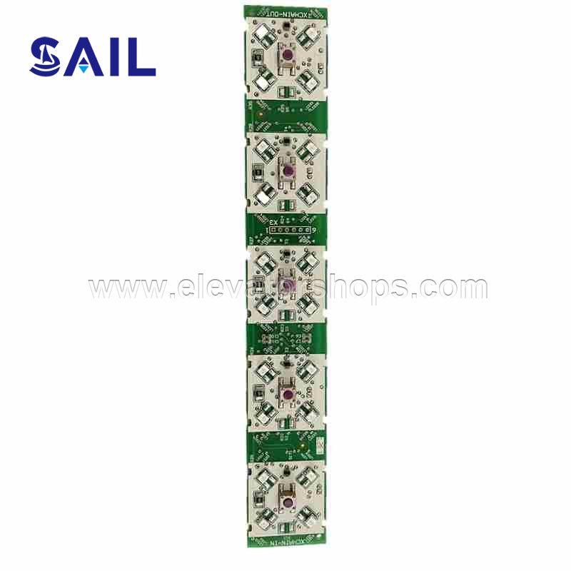 Schindler Elevator Five Button Board ID.NR.59324363