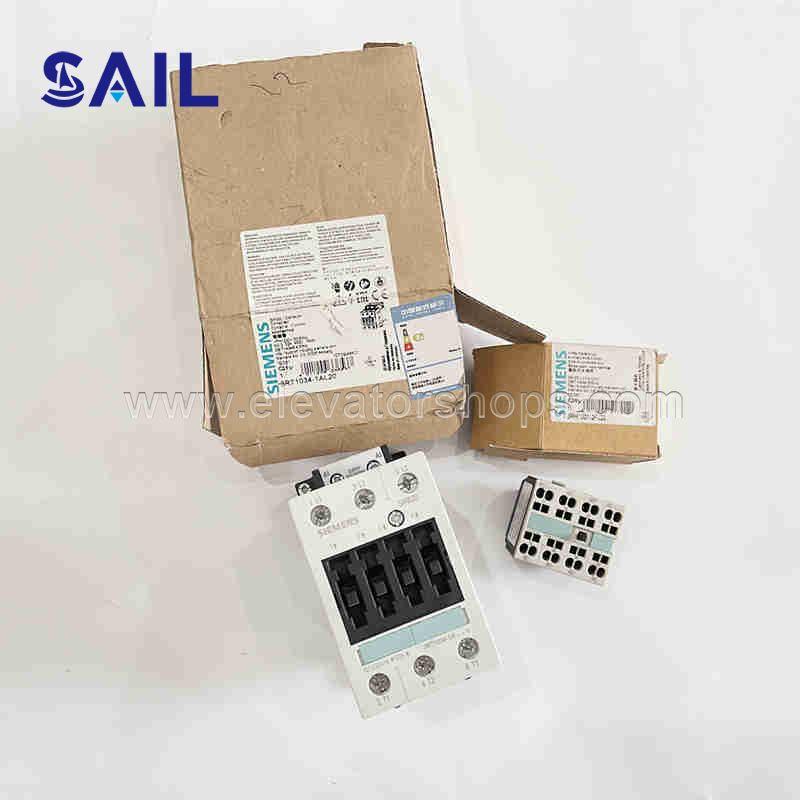 Schindler Elevator 300P Contactor 432562 Siemens 3RT1044-3EL28-0KS3