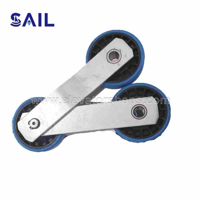 Otis Escalator Step Chain 76*23-135.26mm