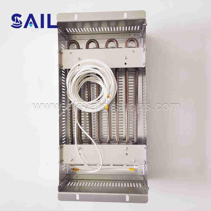 Elevator Metal Tube Frequency Converter Braking Resistor Box